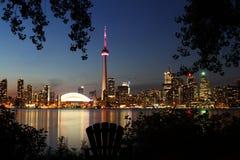 Horisont av Toronto Arkivfoto