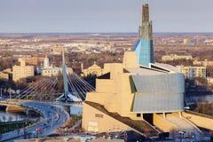 Horisont av Winnipeg royaltyfri foto