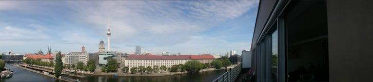 Horisont Berlin East Fotografering för Bildbyråer