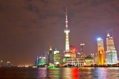 horisont för 2 shanghai royaltyfri fotografi