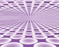 horisont för disko 2 Arkivbild