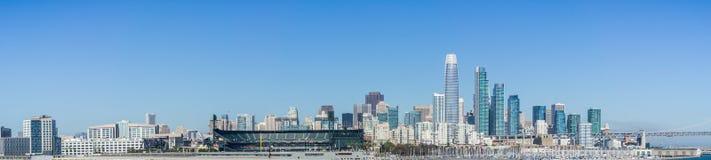 Horisont för finansiellt område för San Francisco ` s ny Arkivfoto