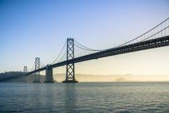 Horisont för finansiellt område för San Francisco ` s ny Royaltyfria Bilder