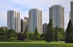 horisont för lägenhetbeijing porslin royaltyfria foton