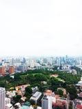 Horisont för Singapore affärsområde Royaltyfria Foton