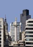 horisont för stadslondon monument Arkivbild