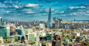 Horisont för WS London Fotografering för Bildbyråer