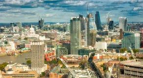 Horisont för WS London Arkivfoto