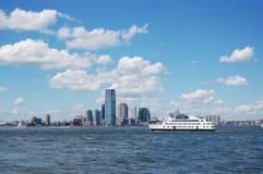 Horisont i New York City Arkivfoto