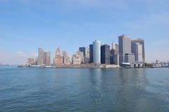 Horisont Manhattan Arkivbild