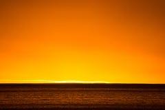 Horisont på solnedgången Royaltyfri Bild
