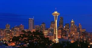 Horisont Seattle Royaltyfri Foto