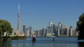 Horisont Toronto, Kanada arkivfilmer