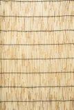 horisontal χαλί φραγών μπαμπού ανασκόπησης Στοκ Φωτογραφίες
