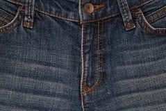 Horisontal denim background, denim textures, blue jeans backgro Stock Photos