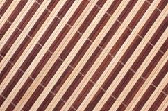 horisontal mattt för bakgrundsbambustaket Royaltyfri Foto