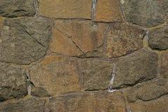 Horisontal Steinwand Stockbilder