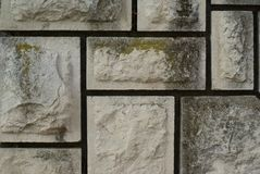 Horisontal stone wall Royalty Free Stock Photos
