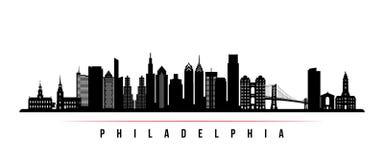 Horisontalbaner för Philadelphia stadshorisont