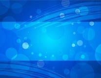 horisontalblå affär för aquabakgrund vektor illustrationer