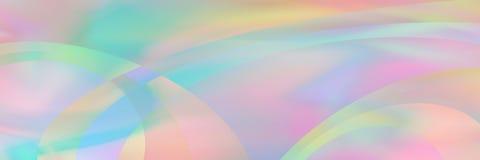 horisontalelegant pastell som är holographic med kurvtexturdesignen för modell och bakgrund vektor illustrationer