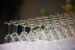 horisontalexponeringsglas Arkivfoton