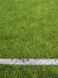 Horisontalfotbollfälts linje Royaltyfri Foto