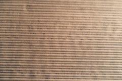 Horisontallinjer på jordbruks- jordsikt från över Plogad po Royaltyfri Foto