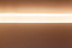 Horisontalnisch med ljus inre belysning Royaltyfria Bilder