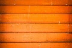 horisontalpos. walls trä arkivbild