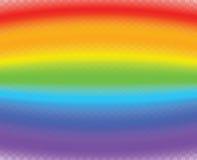Horisontalregnbågebakgrund En naturlig modell från regnbågen royaltyfria foton