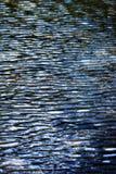 Horisontalsorlvattennivå Arkivfoto