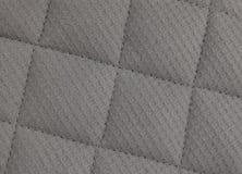 Horisontaltextur av Gray Upholstery Fabric Pattern Background Arkivfoto