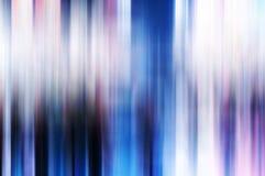 Horisontalvibrerande vertikal suddighetsabstraktion Arkivfoto