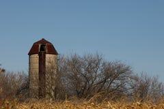 Horizantal silo Stock Afbeelding