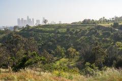 Horizon élyséen de parc et de Los Angeles photographie stock