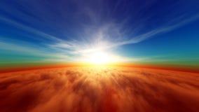 Horizon. The sun of the horizon vector illustration