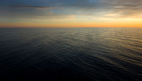 Horizon. A horizon in the early morning at the Baltic sea Royalty Free Stock Photos