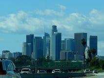 Horizon 2019 actuel de Los Angeles du centre la Californie photos libres de droits