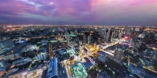 Horizon au-dessus de Bangkok Image stock