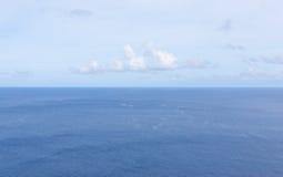Horizon au-dessus de mer Image libre de droits