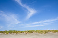 Horizon bij het strand van Fortstevens national park Stock Afbeelding