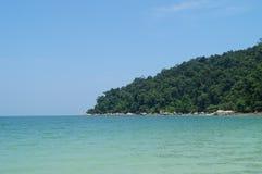 Tropical paradise, Pangkor island, Malaysia stock photos
