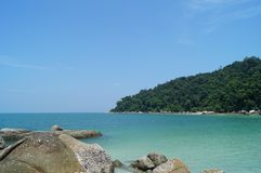 Tropical paradise, Pangkor island, Malaysia royalty free stock photo