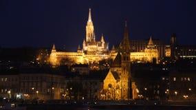 Horizon Boedapest Stock Foto's