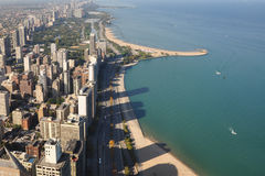 Horizon Chicago images libres de droits