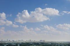 A horizon and cityscape Royalty Free Stock Photos
