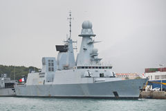 The Horizon- class air-defence destroyer Stock Image