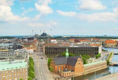 Horizon Copenhague denmark photos stock