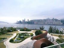 Horizon d'île de Hong Kong photo stock